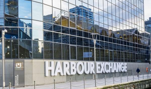Harbour Exchange Square, Canary Wharf, London, E14