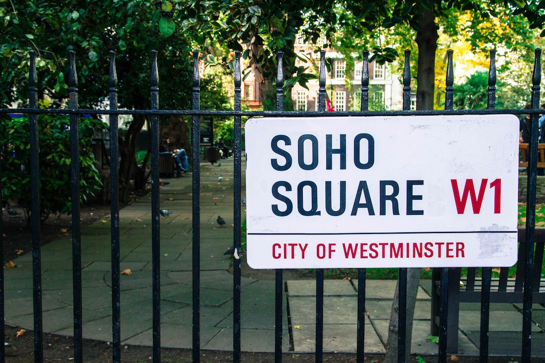 Soho Square, Soho, London, W1
