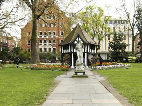 Soho Square, London, W1