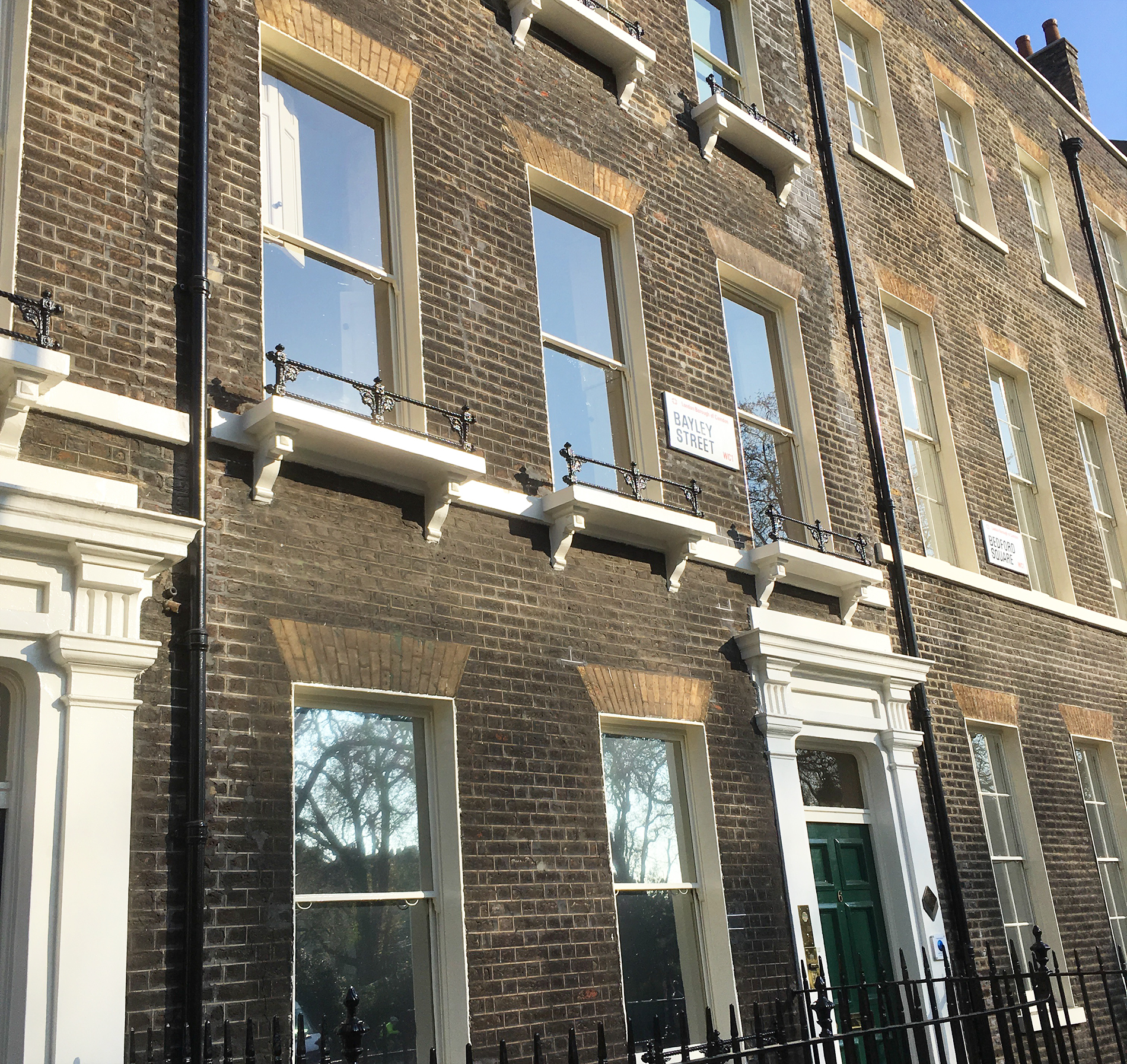 Bayley Street, Bloomsbury, WC1