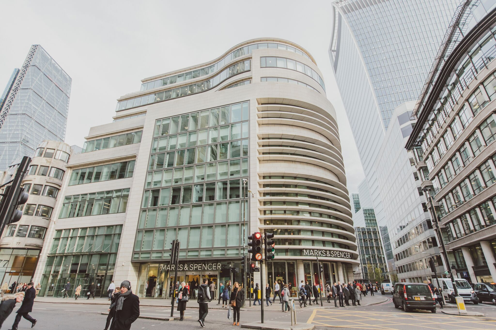 Gracechurch Street, Bank, London, EC3V