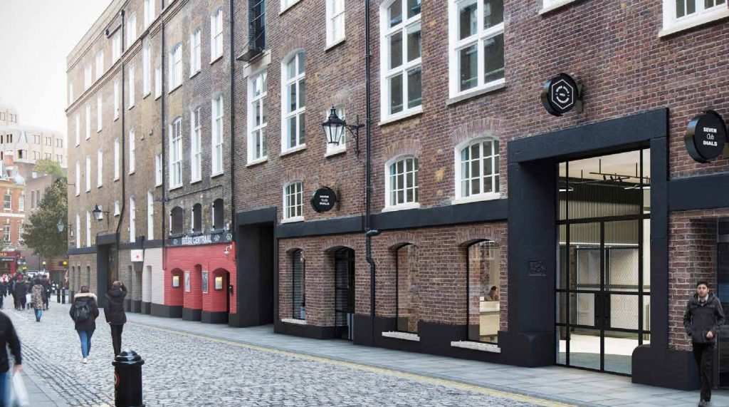 Seven Dials Warehouse, WC2